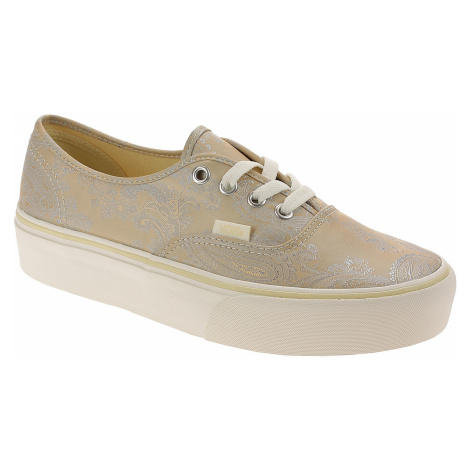 shoes Vans Authentic Platform - Satin Paisley/Nude/Snow White - women´s