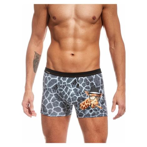 boxer shorts Cornette Tattoo Cigar - Gray