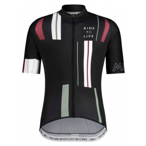 Maloja SCHIMUNM 1/2 black - Men's biking jersey