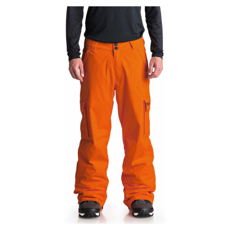pants DC Banshee - NMN0/Red Orange - men´s