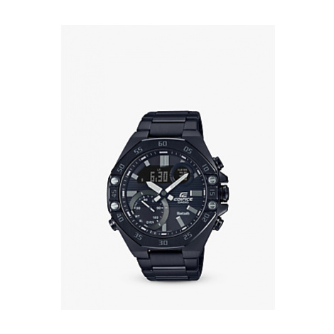 Casio ECB-10DC-1AEF Men's Casio Edifice Solar Powered Watch, Black