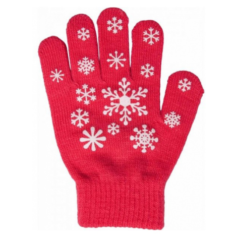 Lewro ANIFE pink - Girls' knitted gloves