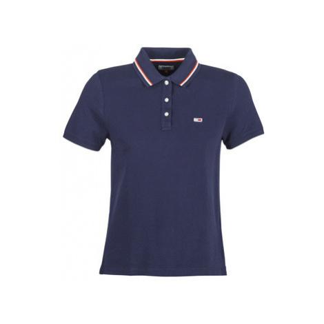 Blue women's polo shirts