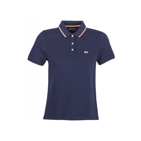Tommy Jeans TJW TOMMY CLASSICS POLO women's Polo shirt in Blue Tommy Hilfiger