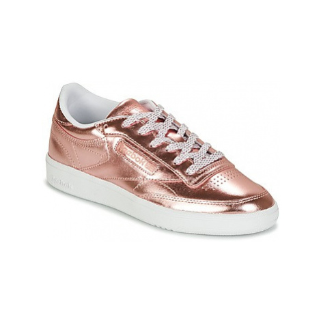 Reebok Classic CLUB C 85 S SHINE women's Shoes (Trainers) in Pink