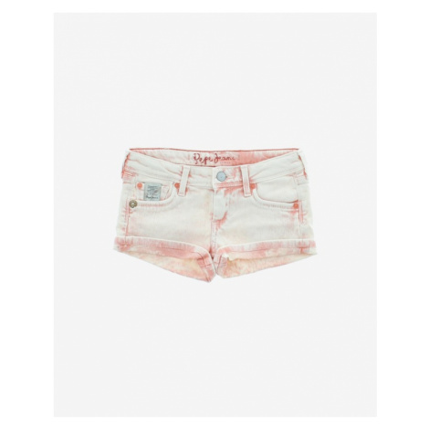 Pepe Jeans Kids Shorts Pink White
