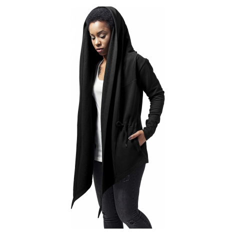 sweatshirt Urban Classics Hooded Sweat Cardigan/TB1330 - Black