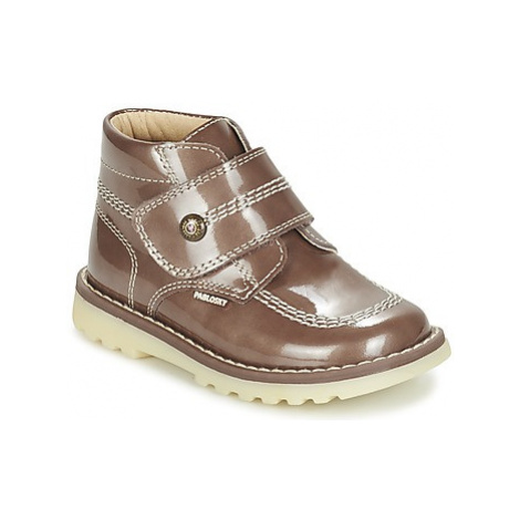 Pablosky BLODOILE girls's Children's Mid Boots in Brown