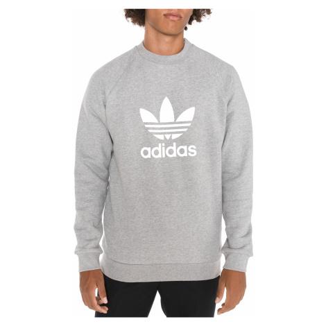 adidas Originals Trefoil Warm-Up Crew Sweatshirt Grey