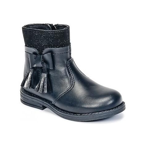 Citrouille et Compagnie HEYLI girls's Children's Mid Boots in Black