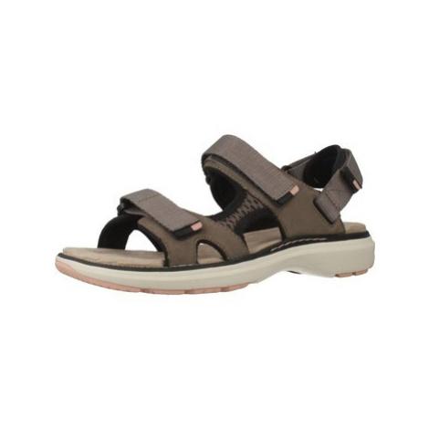Clarks 26141680 women's Sandals in Brown