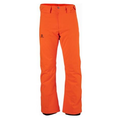 Salomon STORMRACE PANT M orange - Men's ski pants
