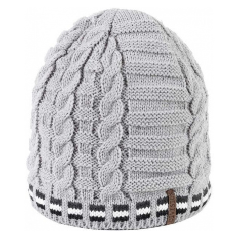 Finmark DIVISION white - Women's knitted hat