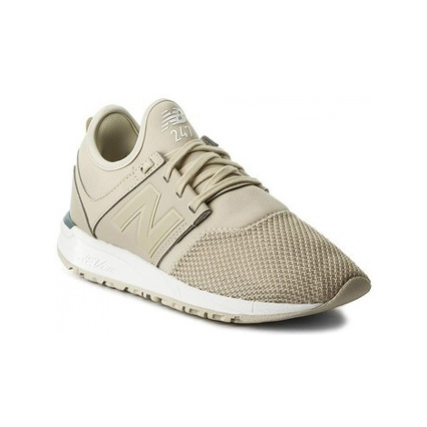 New Balance WRL247CB women's Shoes (Trainers) in Beige