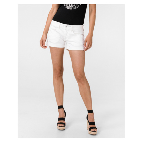 Pepe Jeans Siouxie Shorts White