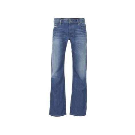 Diesel ZATINY men's Bootcut Jeans in Blue