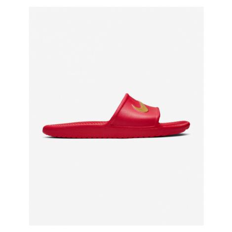 Nike Kawa Slippers Red