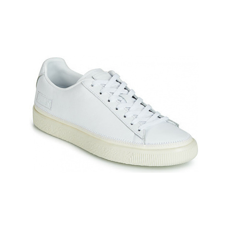 Puma BASKET STITCHED men's Shoes (Trainers) in White