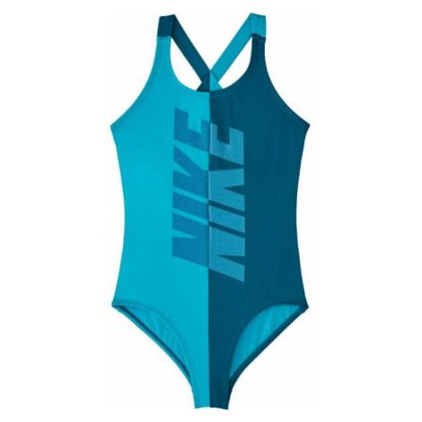 Nike RIFT green - Girls' one-piece swimsuit