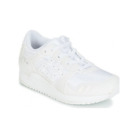 Asics GEL-LYTE III PS girls's Children's Sports Trainers in White