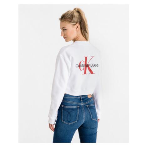 Calvin Klein Monogram Sweatshirt White
