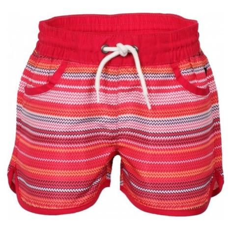 ALPINE PRO DOORO red - Children's shorts