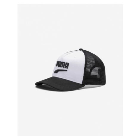 Puma Basketball Trucker Cap Black White