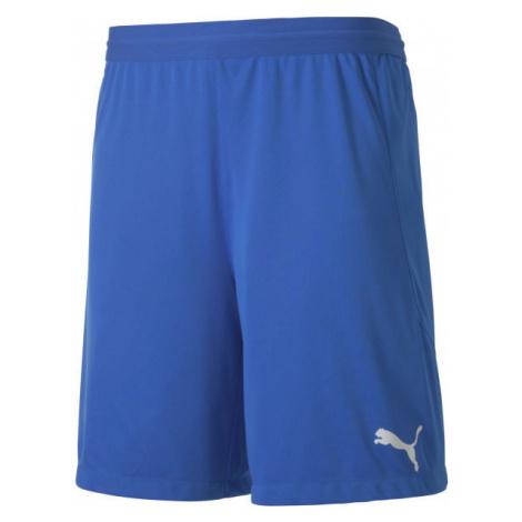 Puma TEAM FINAL 21 KNIT SHORTS TEAM dark blue - Men's shorts