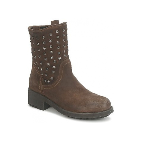 Meline OMY women's Mid Boots in Brown