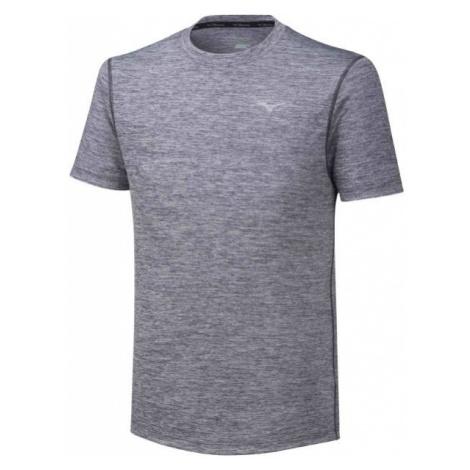 Mizuno IMPULSE CORE TEE grey - Men's running T-shirt