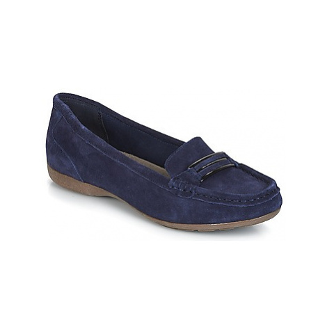 Wildflower VISAGE women's Loafers / Casual Shoes in Blue