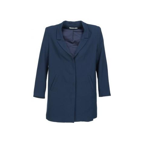 See U Soon CARINA women's Coat in Blue