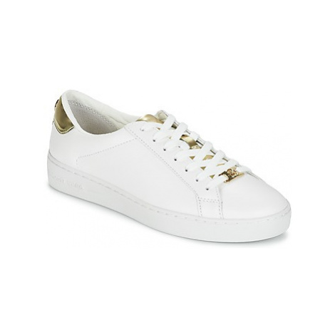 MICHAEL Michael Kors IRVING women's Shoes (Trainers) in White