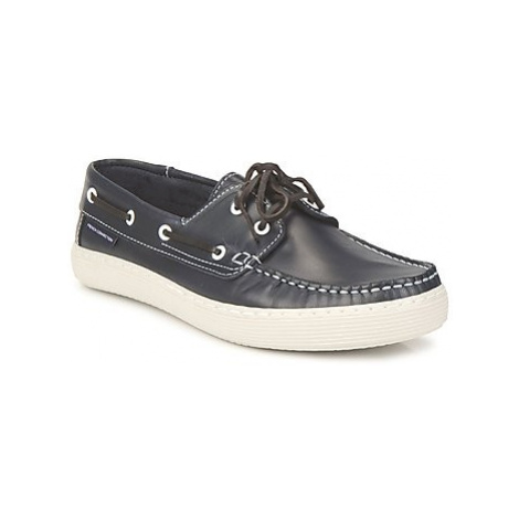 French Connection Sheringham men's Boat Shoes in Black