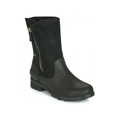 Sorel EMELIE FOLDOVER women's Mid Boots in Black
