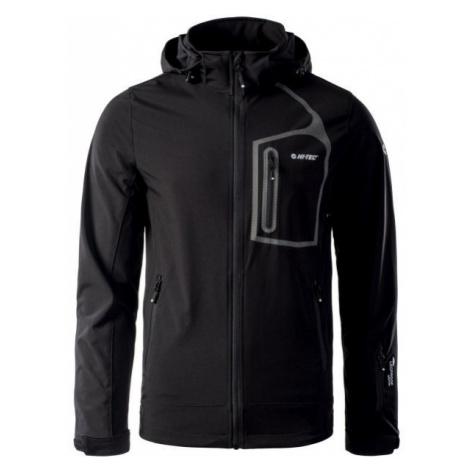 Black men's softshell jackets