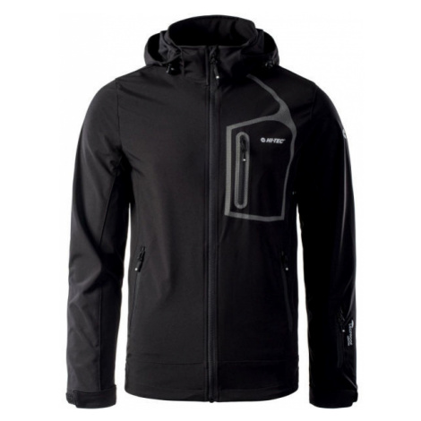 Hi-Tec NIKOS black - Men's softshell jacket