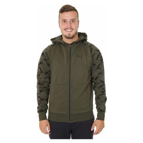 sweatshirt Puma Modern Sports Zip - Forest Night - men´s