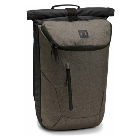 Under Armour SPORTSTYLE ROLLTOP brown - Backpack