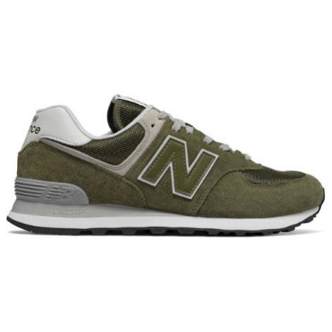 New Balance 574 Shoes - Olive