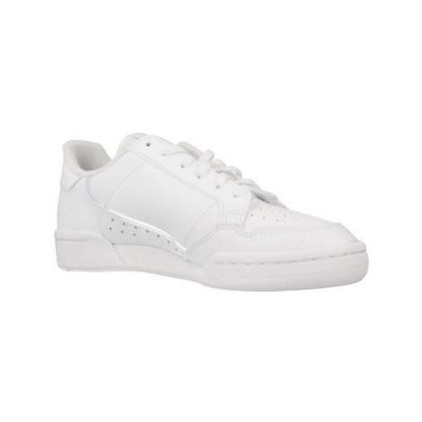 Adidas ADIDAS CONTINENTAL 80 girls's Children's Shoes (Trainers) in White