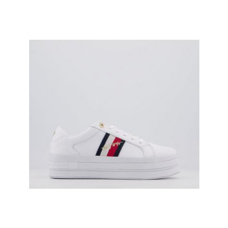 Tommy Hilfiger Signature Modern Sneaker WHITE