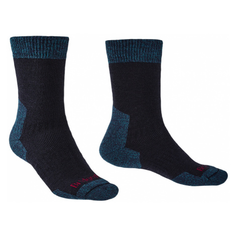 Bridgedale Mens Explorer Heavyweight Merino Comfort Boot Socks-Navy-12+