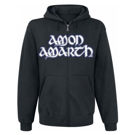 Amon Amarth - Raven's Flight - Hooded zip - black