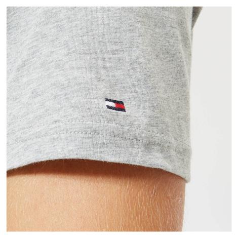 Tommy Hilfiger Men's Short Sleeve Logo T-Shirt - Grey Heather - Grey