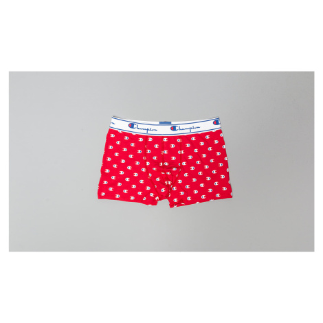 Champion Small Logo Boxers Red