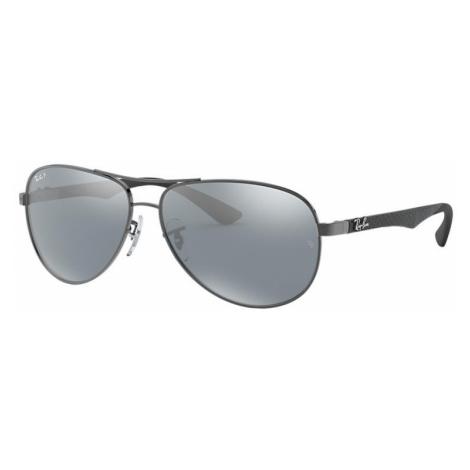 Ray-Ban Rb8313 Man Sunglasses Lenses: Gray Polarized, Frame: Gunmetal - RB8313 004/K6 58-13
