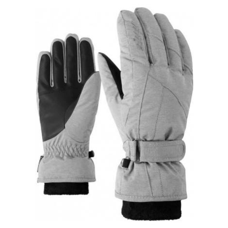 Ziener KARMA GTX + GORE PLUS WARM W white - Women's gloves