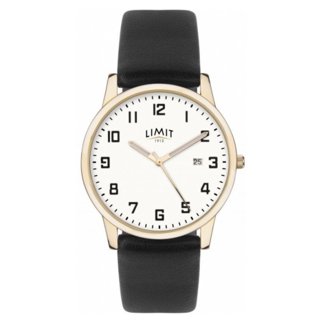 Mens Gold Plated Classic DateWatch Limit