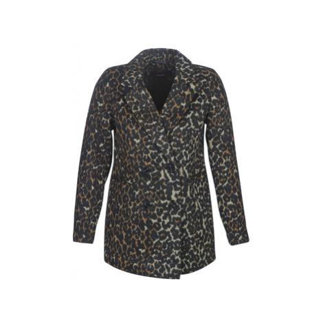 Vero Moda VMCOCOLEOPARD women's Coat in Brown
